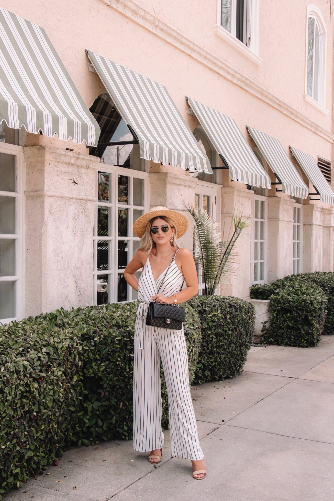STRIPED JUMPSUIT FROM THE PINK LILY BOUTIQUE!